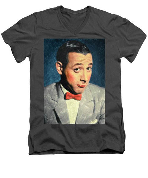 Pee-wee Herman Men's V-Neck T-Shirt