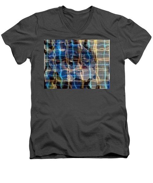 Peek-a-boo Men's V-Neck T-Shirt
