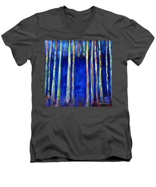 Peeking Through The Trees Men's V-Neck T-Shirt