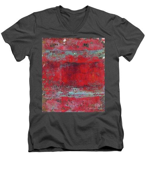 Peeling Wall Men's V-Neck T-Shirt