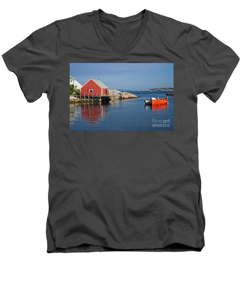 Peggys Cove Men's V-Neck T-Shirt