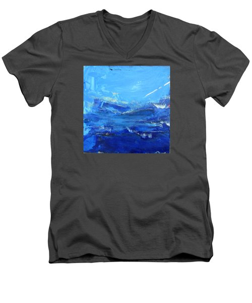 Peinture Abstraite Sans Titre 10 Men's V-Neck T-Shirt