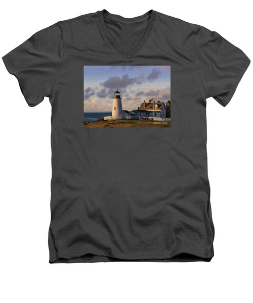 Pemaquid Morning Men's V-Neck T-Shirt