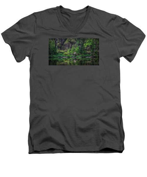 Pena Blanca Lake, Az Men's V-Neck T-Shirt