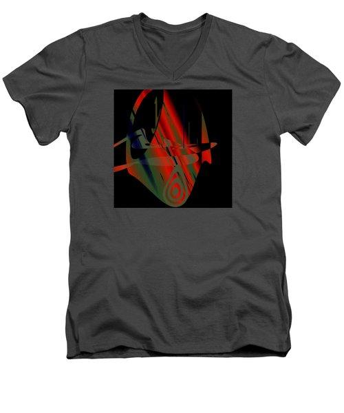 Penman Original-265- We Are All Ethnic Men's V-Neck T-Shirt by Andrew Penman