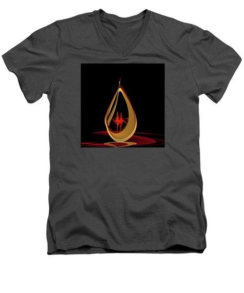 Penman Original-318 Men's V-Neck T-Shirt by Andrew Penman