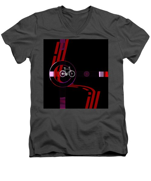 Penman Original-476a Men's V-Neck T-Shirt by Andrew Penman