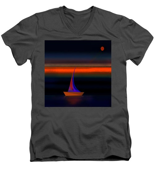 Penman Original-532 Men's V-Neck T-Shirt by Andrew Penman