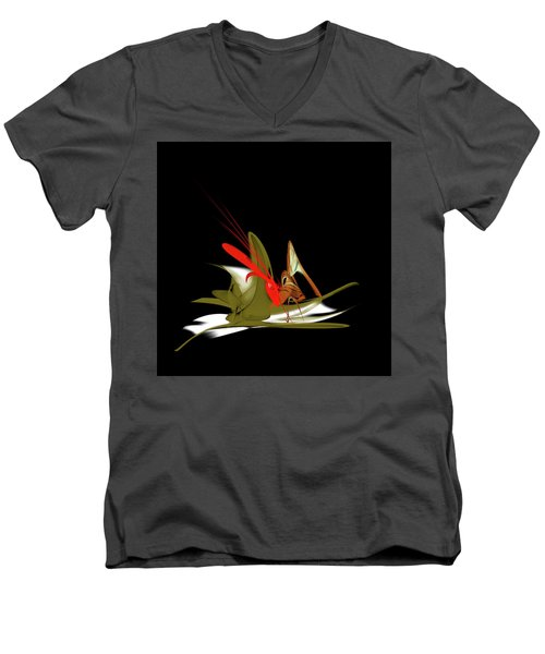 Penman Original-837 Men's V-Neck T-Shirt by Andrew Penman