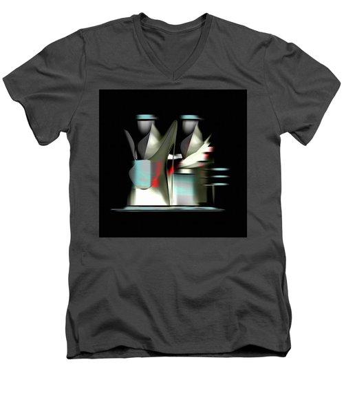 Penman Original-841 Men's V-Neck T-Shirt by Andrew Penman