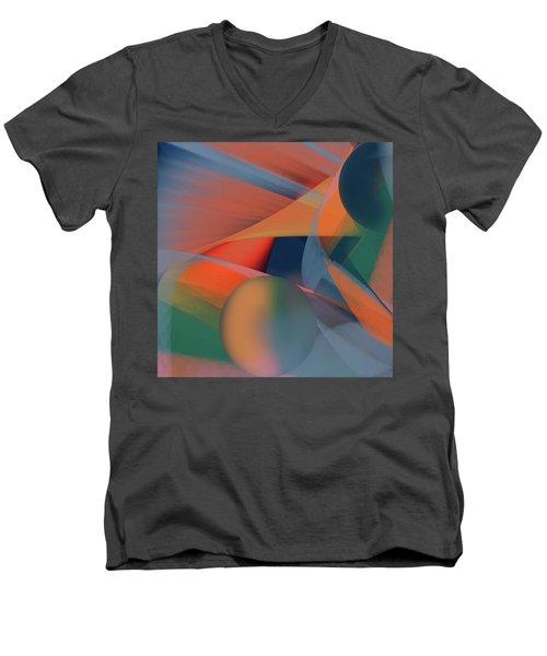 Penman Original-943 Men's V-Neck T-Shirt by Andrew Penman