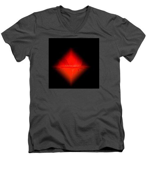 Penman Original - Pillow Talk Men's V-Neck T-Shirt by Andrew Penman
