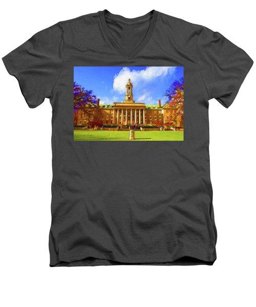 Penn State University Men's V-Neck T-Shirt