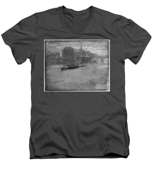 Pennell Thames, 1903 Men's V-Neck T-Shirt by Granger