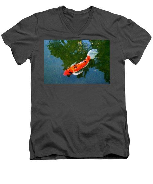 Pensive Koi Men's V-Neck T-Shirt