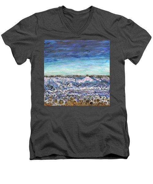 Pensive Waters Men's V-Neck T-Shirt
