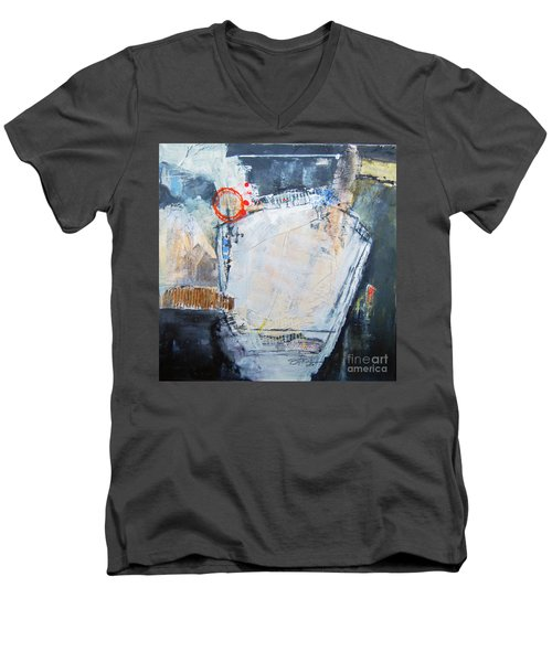 Pentagraphic Men's V-Neck T-Shirt by Ron Stephens