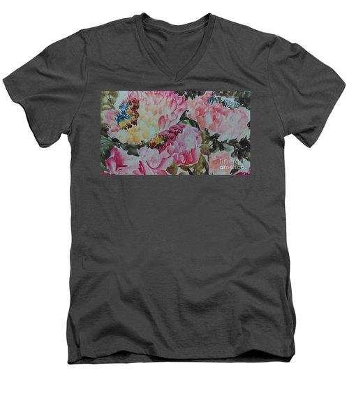 Peoney20161229_9 Men's V-Neck T-Shirt