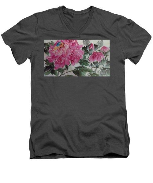Peoney20161230_623 Men's V-Neck T-Shirt