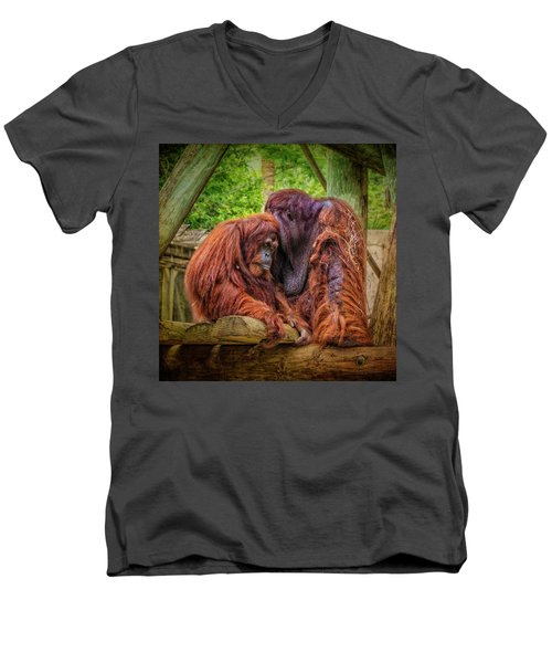 People Of The Forest Men's V-Neck T-Shirt