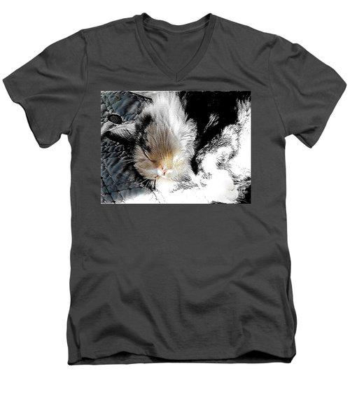 Pepper Sunface Men's V-Neck T-Shirt
