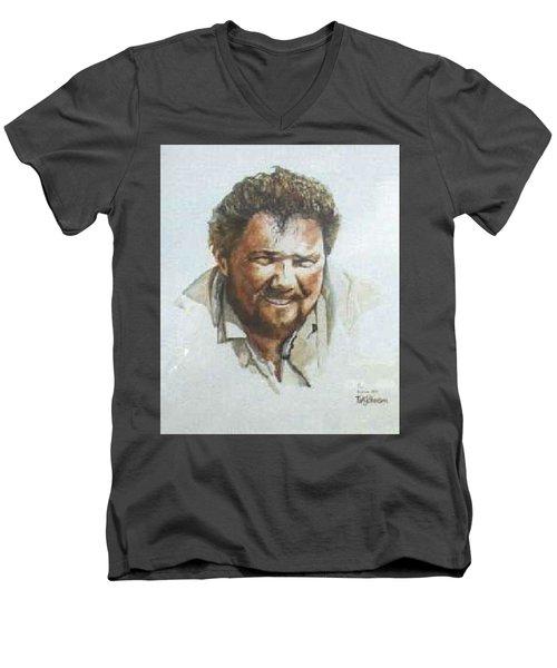 Per Men's V-Neck T-Shirt