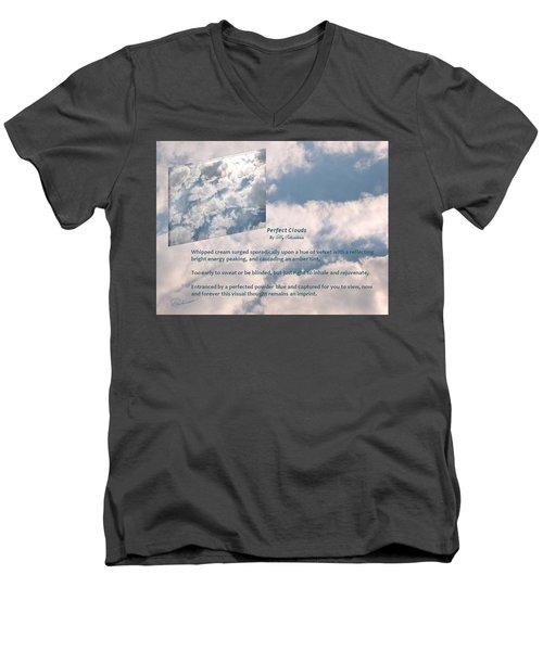 Perfect Clouds Men's V-Neck T-Shirt