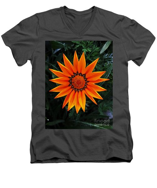 Perfect Flower  Men's V-Neck T-Shirt by Jasna Gopic