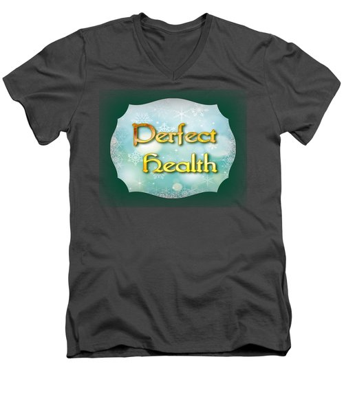 Perfect  Health Men's V-Neck T-Shirt