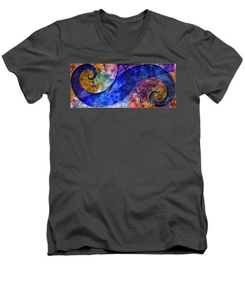 Permanent Waves Men's V-Neck T-Shirt