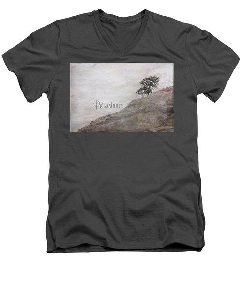 Persistance Men's V-Neck T-Shirt