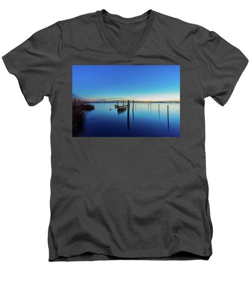 Perspective Men's V-Neck T-Shirt