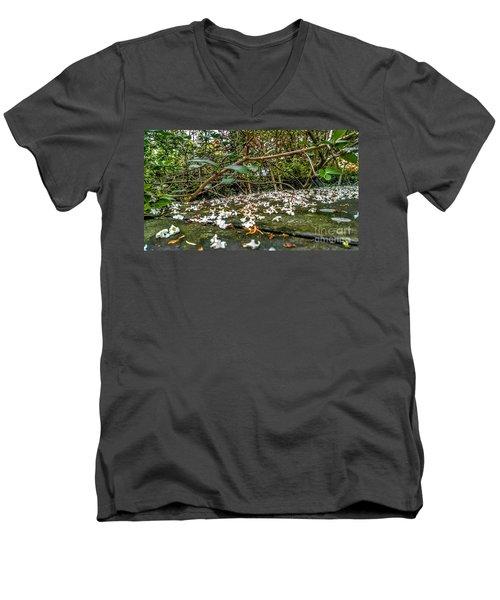 Petal And Stone Men's V-Neck T-Shirt