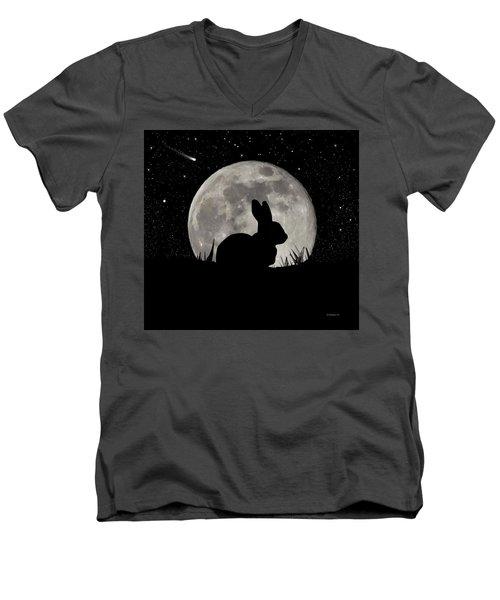 Peter Cottontail Men's V-Neck T-Shirt