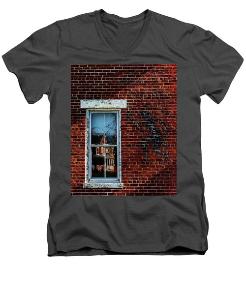 Peter Pan's Shadow Men's V-Neck T-Shirt