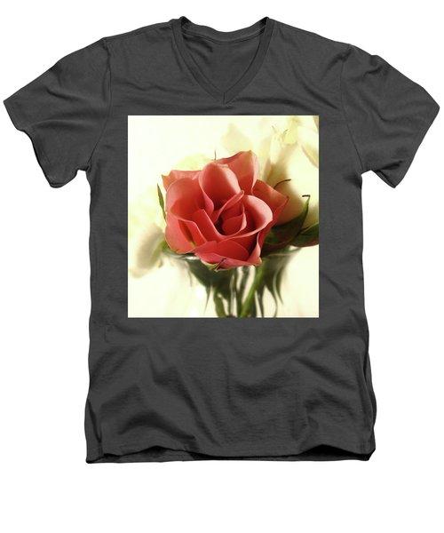 Petite Bouquet Men's V-Neck T-Shirt