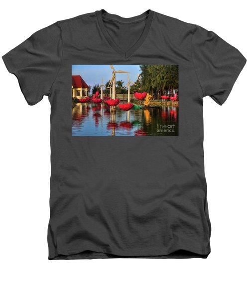Phan Thiet Sudi Resort 2 Men's V-Neck T-Shirt