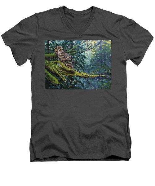 Phantom Of The North Men's V-Neck T-Shirt