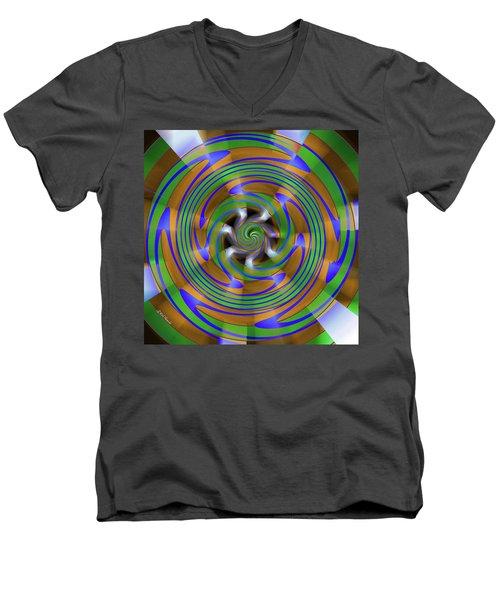 Phasing Men's V-Neck T-Shirt