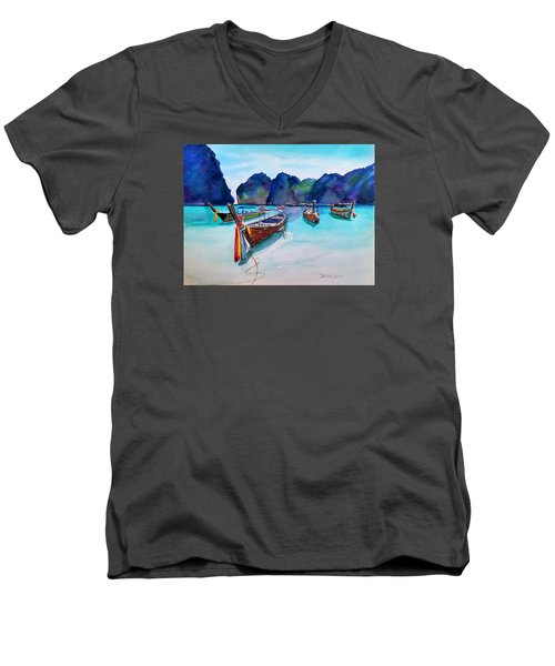 Phi Phi Island Men's V-Neck T-Shirt