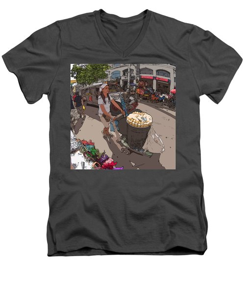 Philippines 1265 Mais Men's V-Neck T-Shirt