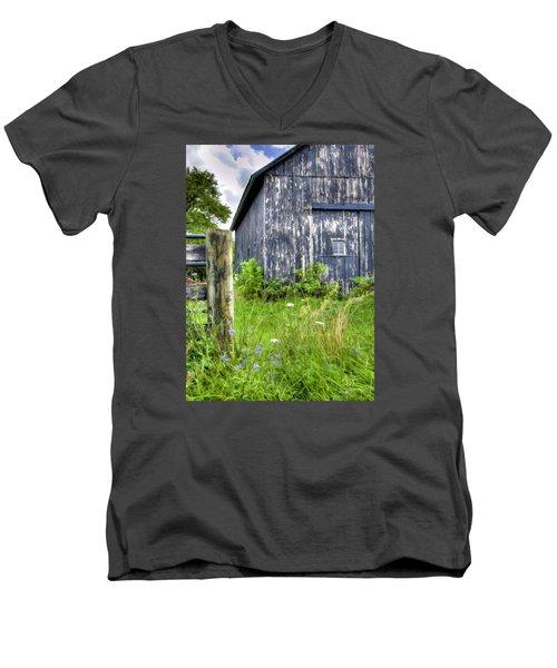 Phillip's Barn #3 Men's V-Neck T-Shirt