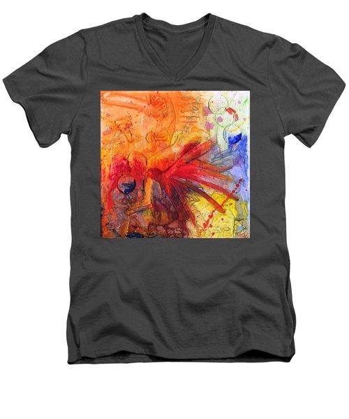 Phoenix Hummingbird Men's V-Neck T-Shirt