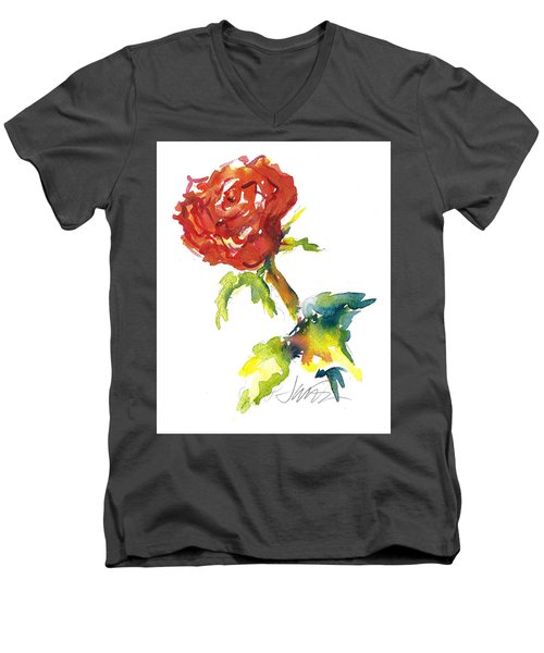 The Phoenix Rose Men's V-Neck T-Shirt