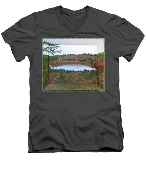 Phoenix Lake Men's V-Neck T-Shirt