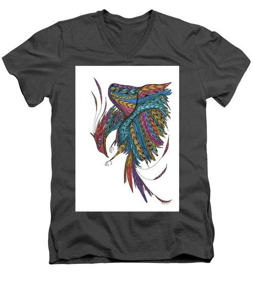 Phoenix Landing Men's V-Neck T-Shirt