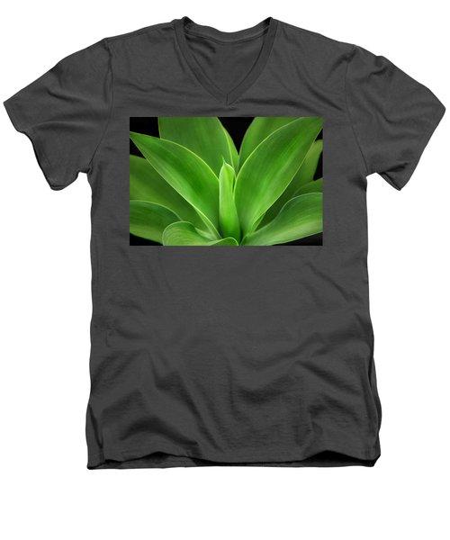 Phoenix Rising Men's V-Neck T-Shirt by Marion Cullen