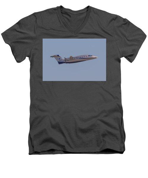 Piaggio P-180 Men's V-Neck T-Shirt