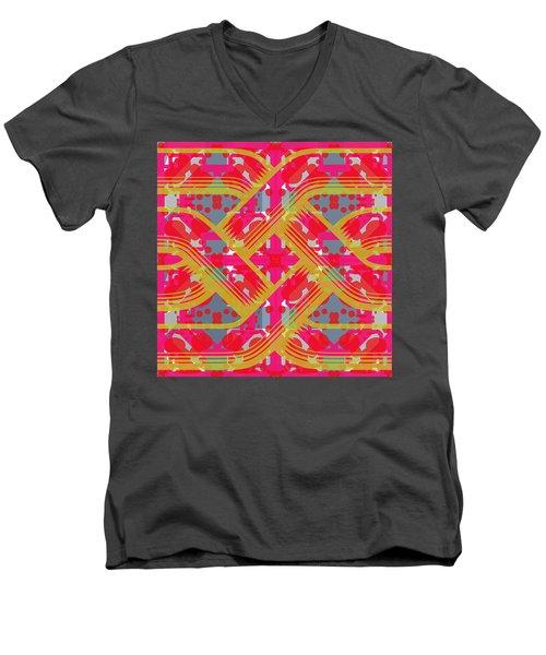 Pic8_coll2_14022018 Men's V-Neck T-Shirt