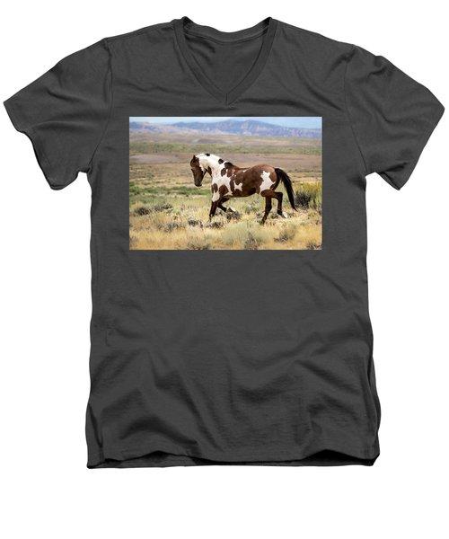 Picasso Strutting His Stuff Men's V-Neck T-Shirt